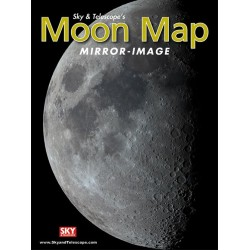 Mirror-Image Moon Map